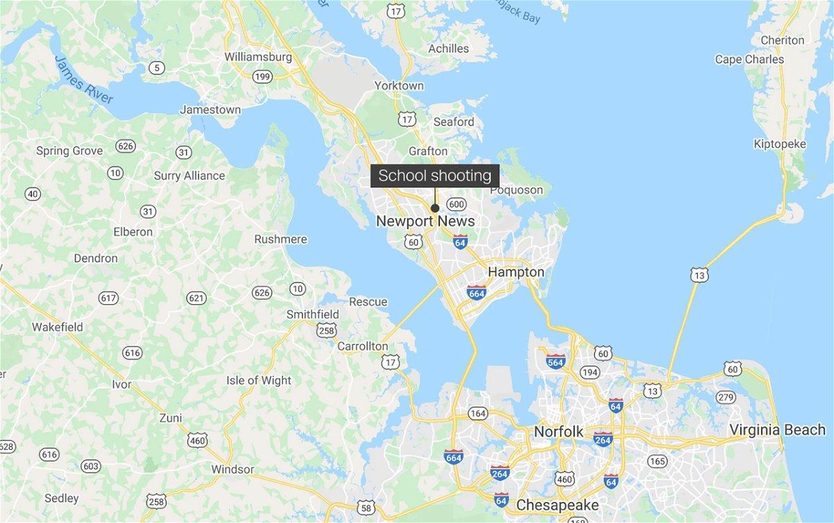 <i>Google</i><br/>Police in Newport News