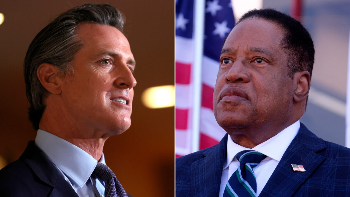 <i>Getty</i><br/>California voters are heading to the polls today to decide whether to remove Democratic Gov. Gavin Newsom. Conservative talk radio host Larry Elder is the candidate most likely to replace Newsom if the recall is successful.