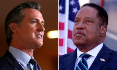 California voters are heading to the polls today to decide whether to remove Democratic Gov. Gavin Newsom. Conservative talk radio host Larry Elder is the candidate most likely to replace Newsom if the recall is successful.