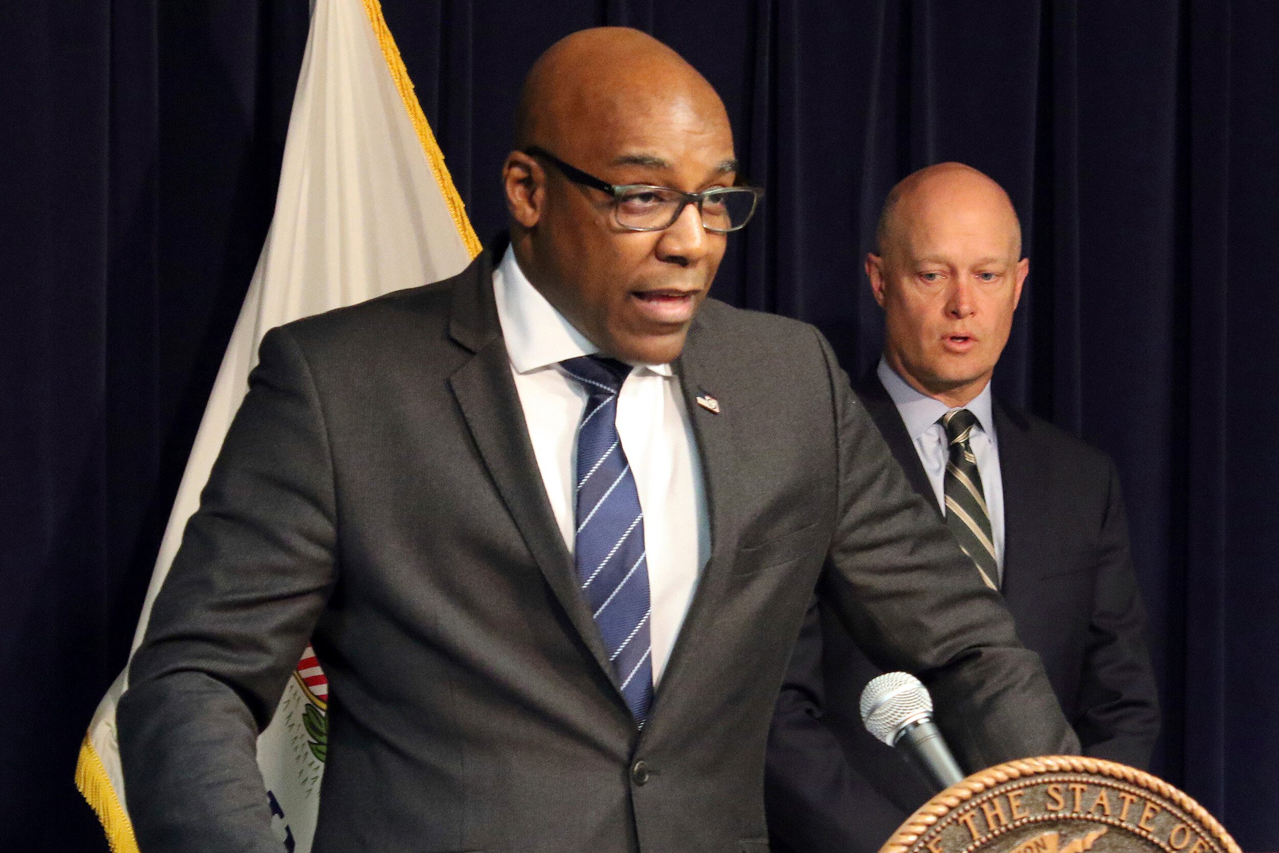 <i>Noreen Nasir/AP/FILE</i><br/>Illinois Attorney General Kwame Raoul initiated a formal investigation into the Joliet Police Department.