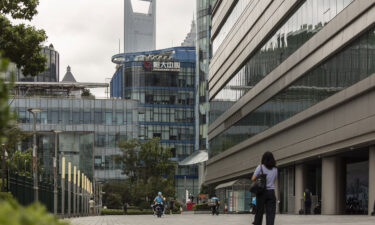 Shares of Evergrande fell more than 10% in Hong Kong.