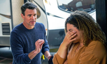 """Scott Foley and Simone Recasner star in """"The Big Leap."""""""