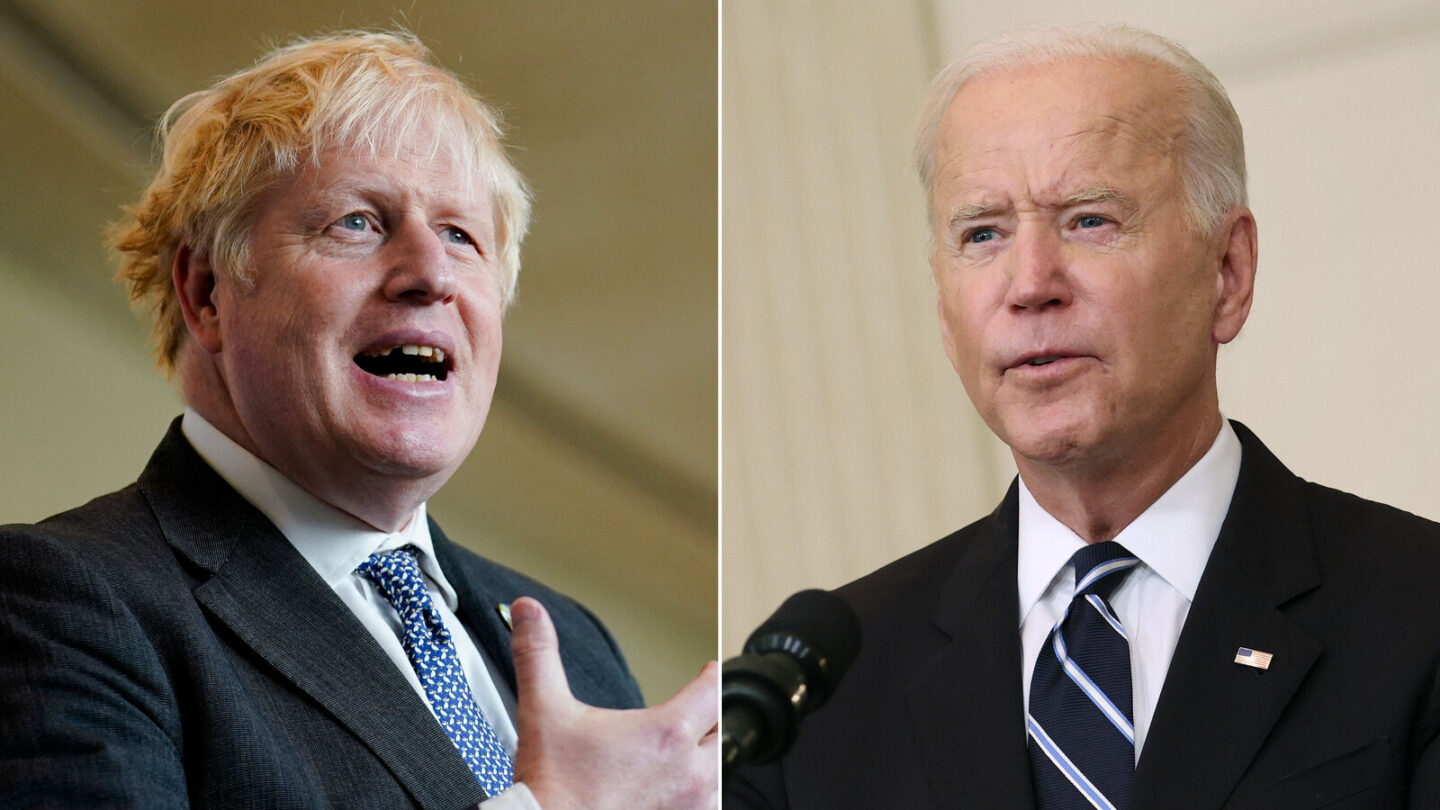 <i>Getty Images</i><br/>President Joe Biden did not attend Prime Minister Boris Johnson's Monday meeting about global climate financing.