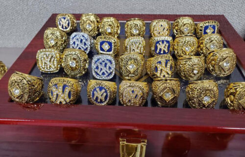 US Customs and Border Protection officers seized 86 counterfeit championship rings in Chicago.