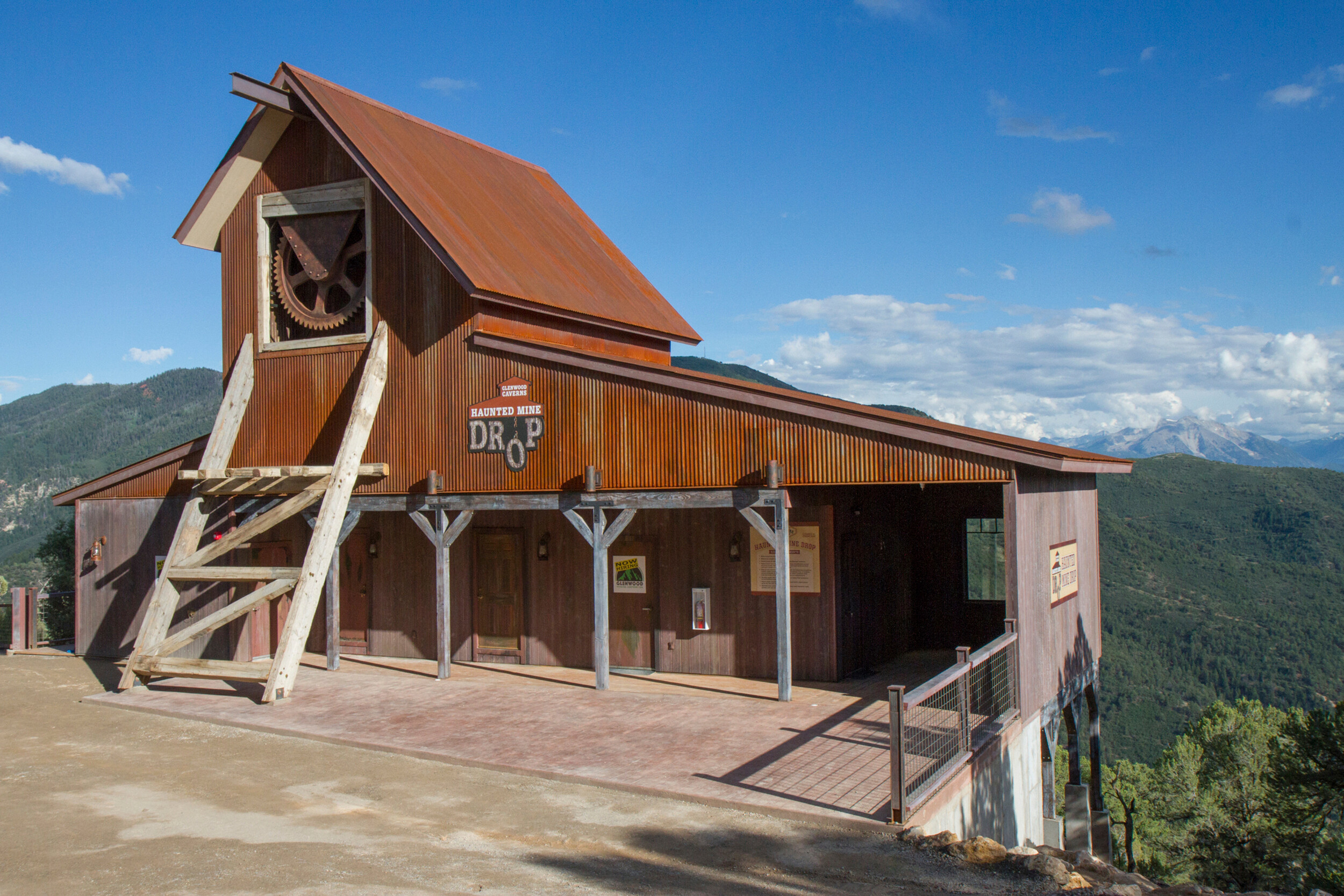 <i>Chelsea Self/AP/FILE</i><br/>The Haunted Mine Drop is shown in this July 2017 file photo at Glenwood Caverns Adventure Park in Glenwood Springs