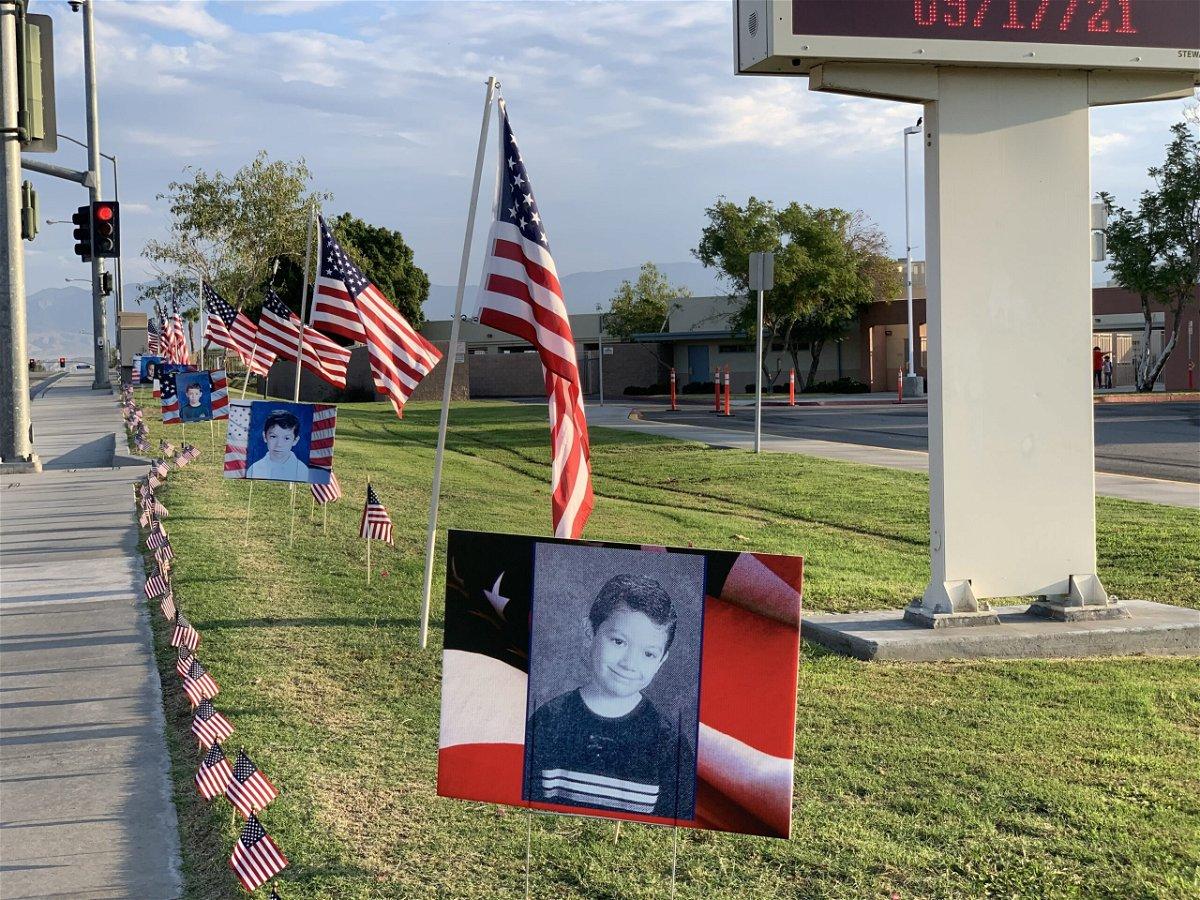 Fallen Marine Cpl. Hunter Lopez honored at La Quinta childhood schools - KESQ