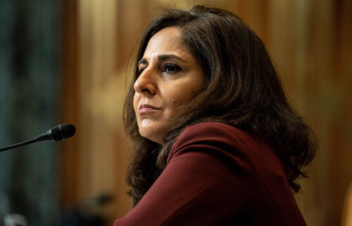 Neera Tanden was named White House staff secretary on a morning staff call on Friday. Tanden is shown here on February 10