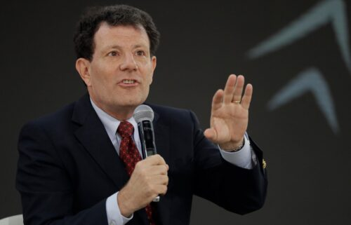 Former New York Times columnist Nicholas Kristof