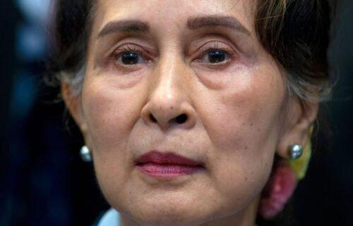 Myanmar's ousted civilian leader Aung San Suu Kyi