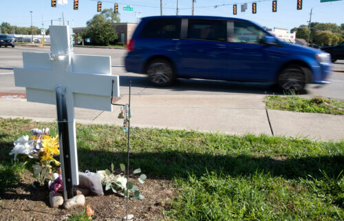 A memorial for Shelby Smith was recently renovated by police officers in Indianapolis.