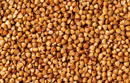 Buckwheat is gluten-free and often used in pancakes and soba noodles.